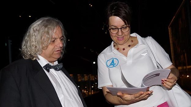 Karin Kobler unterwegs in der «Schatzkammer Liechtensteins»