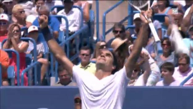 Video «ATP Cincinnati: Federer - Djokovic» abspielen