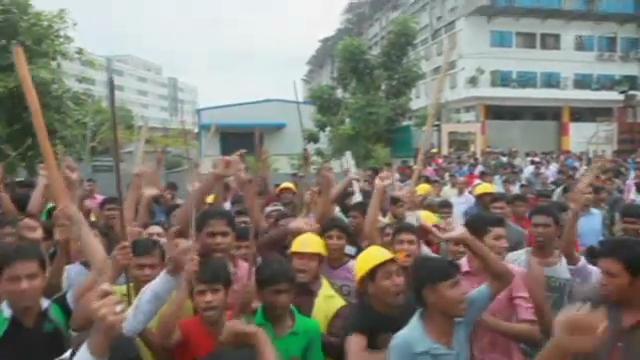 Bangladesch: Auseinandersetzungen vor geschlossener Textilfabrik
