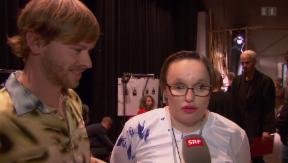 Video «Besondere Modeschau: Menschen mit Behinderung als Laufstegmodels» abspielen