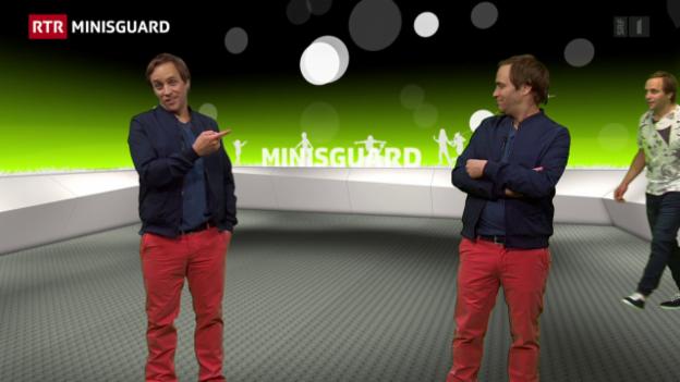 Laschar ir video «Minisguard dals 19.09.2015»