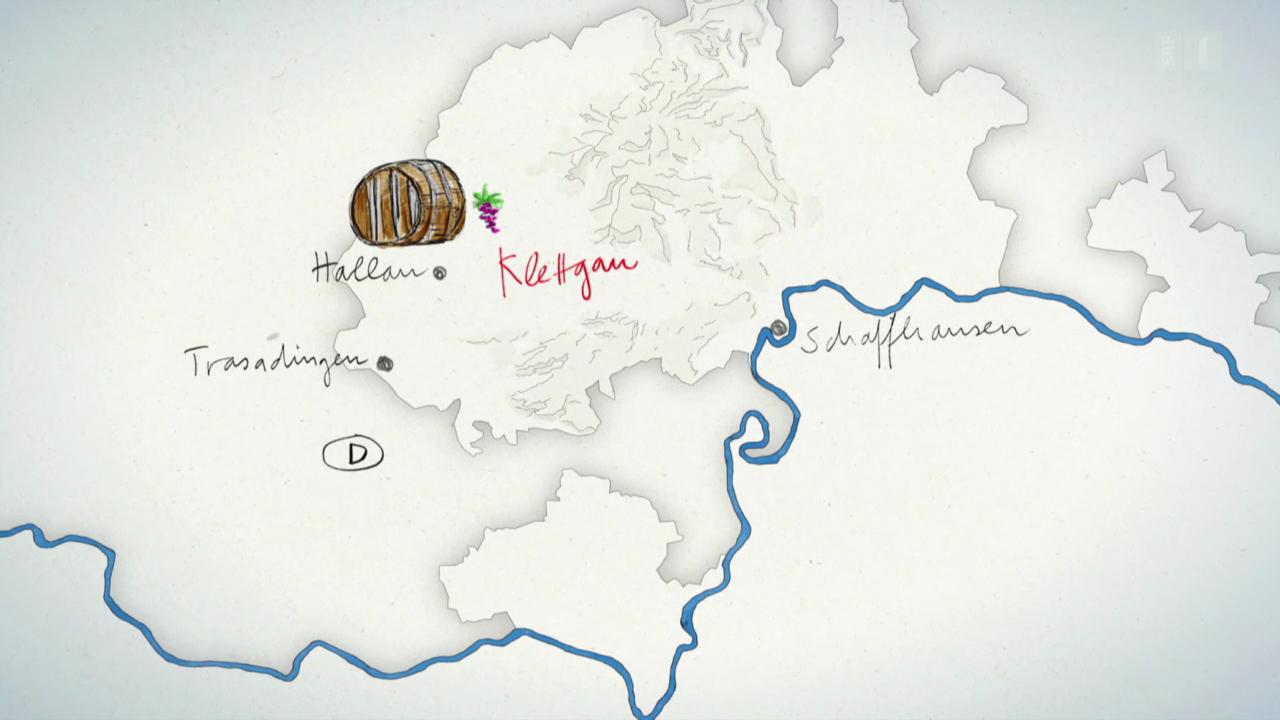 Karte: Klettgau