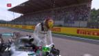 Video «Hamilton egalisiert Schumachers Pole-Rekord» abspielen