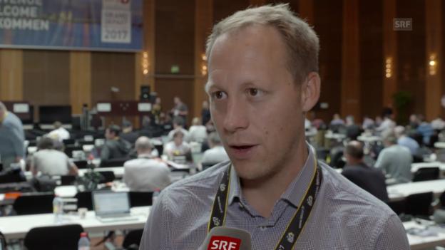 Video «Interview mit David Loosli» abspielen