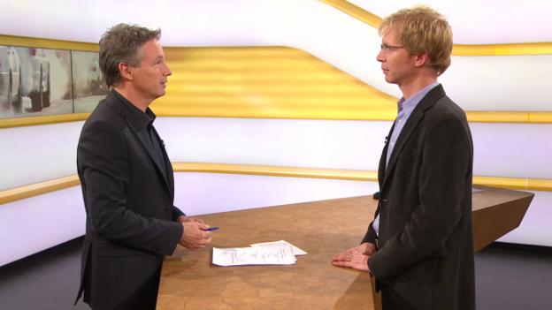 Video «Studiogespräch mit Elmar Grosse Ruse (Teil 2)» abspielen