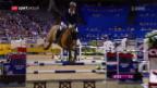 Video «Schweizer Reiter starten stark in den Weltcup-Final in Omaha» abspielen