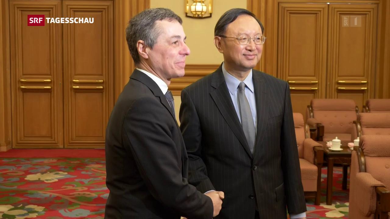 Bundesrat Cassis in Peking