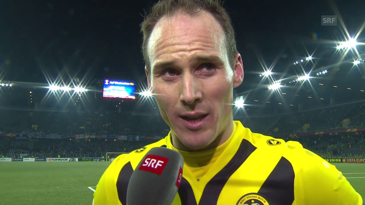Fussball: Europa League, Interview Steve von Bergen
