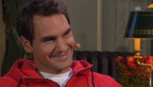 Video «Roger Federer über Mirka und die Zwillinge» abspielen