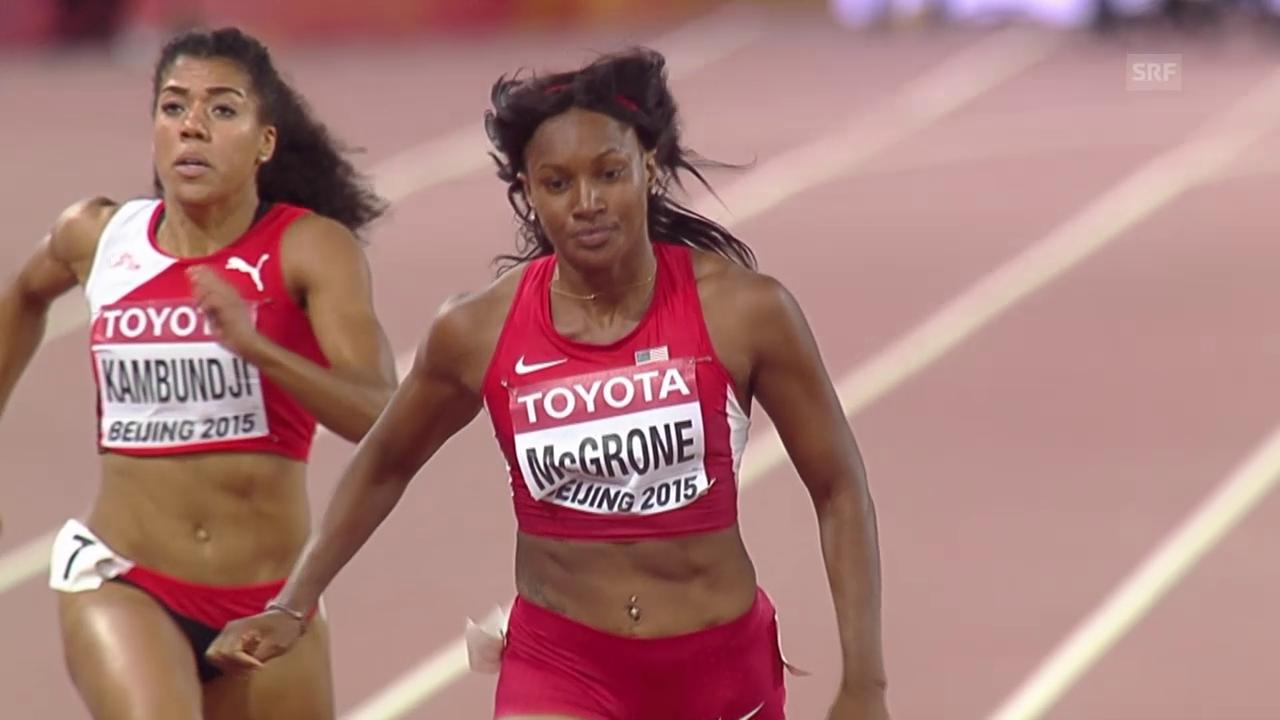 Kambundji qualifiziert sich für 200-m-Halbfinal