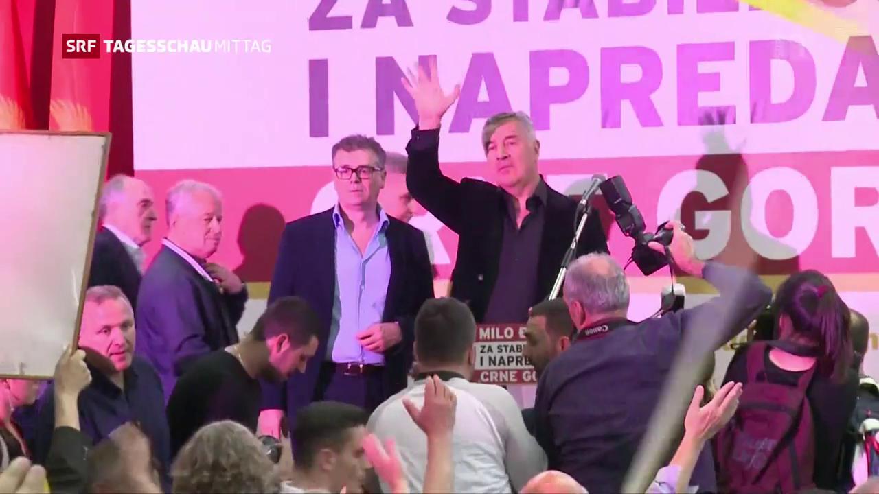Milo Djukanovic gewinnt die Präsidentschaftswahl in Montenegro