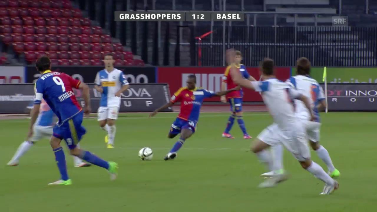 Fussball: Gilles Yapis Weitschuss-Tore im Letzigrund 2012 und 2015