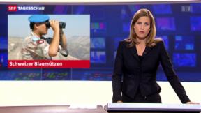 Video «Acht Schweizer Blaumützen in Mali» abspielen