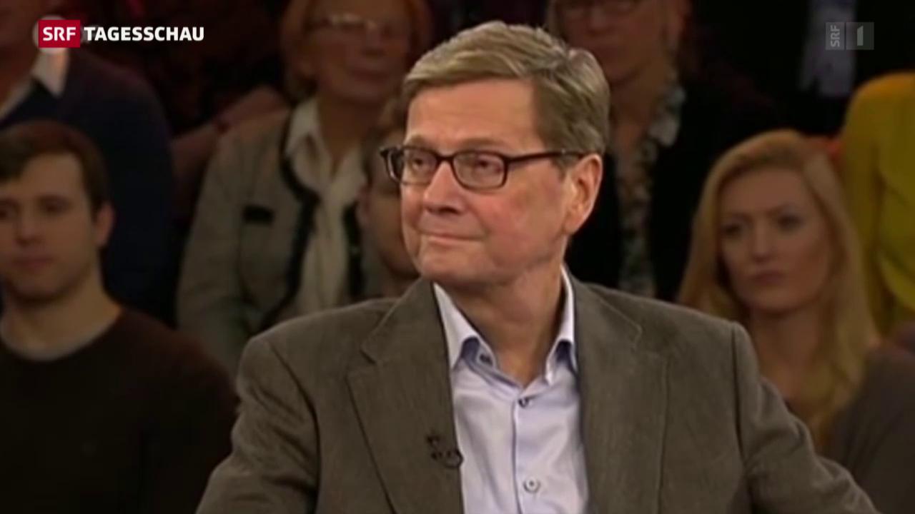 Guido Westerwelle ist tot