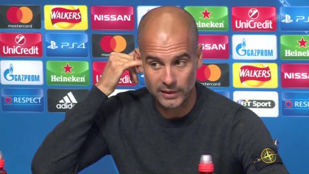 Video «Guardiola warnt vor Borussia» abspielen