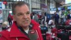 Video «Eishockey Männer: Abreise der Schweizer Nati» abspielen