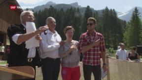 Video «Burkhalters letzter 1. August» abspielen
