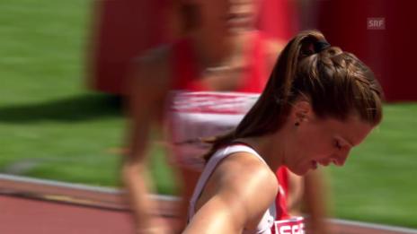 Video «200 m: Lea Sprunger erreicht Halbfinal» abspielen