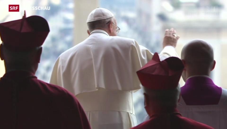 Papst prangert Kriege in der Welt an