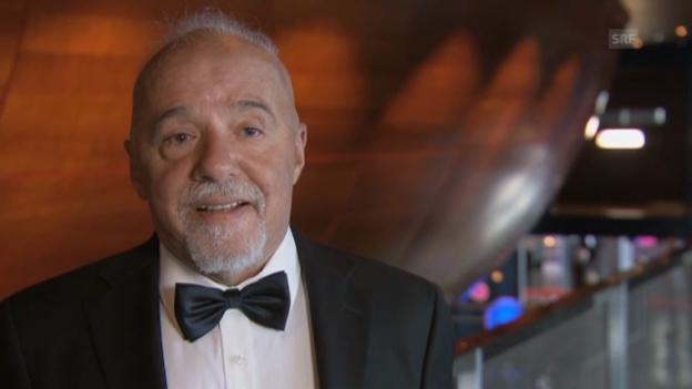 Video «Paolo Coelho: «Ich wünsche mir, dass die Konzerte irgenwann via Live-Stream überall gesehen werden können.»» abspielen