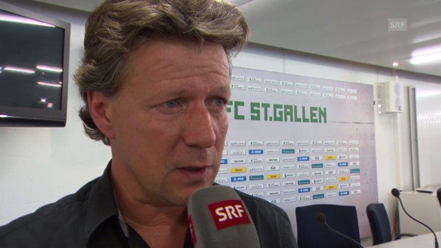 Video «Fussball: Super League, Interview Saibene» abspielen