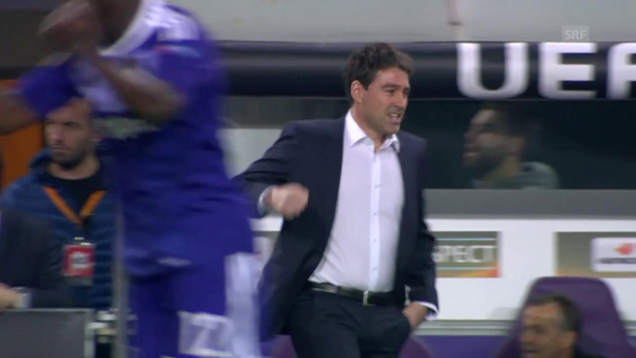 Anderlecht gewinnt im Achtelfinal