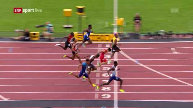 Video «Wilson läuft im Halbfinal der Konkurrenz hinterher» abspielen