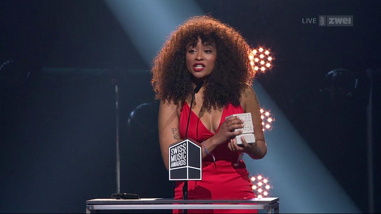 Danitsa erhält den Swiss Music Award
