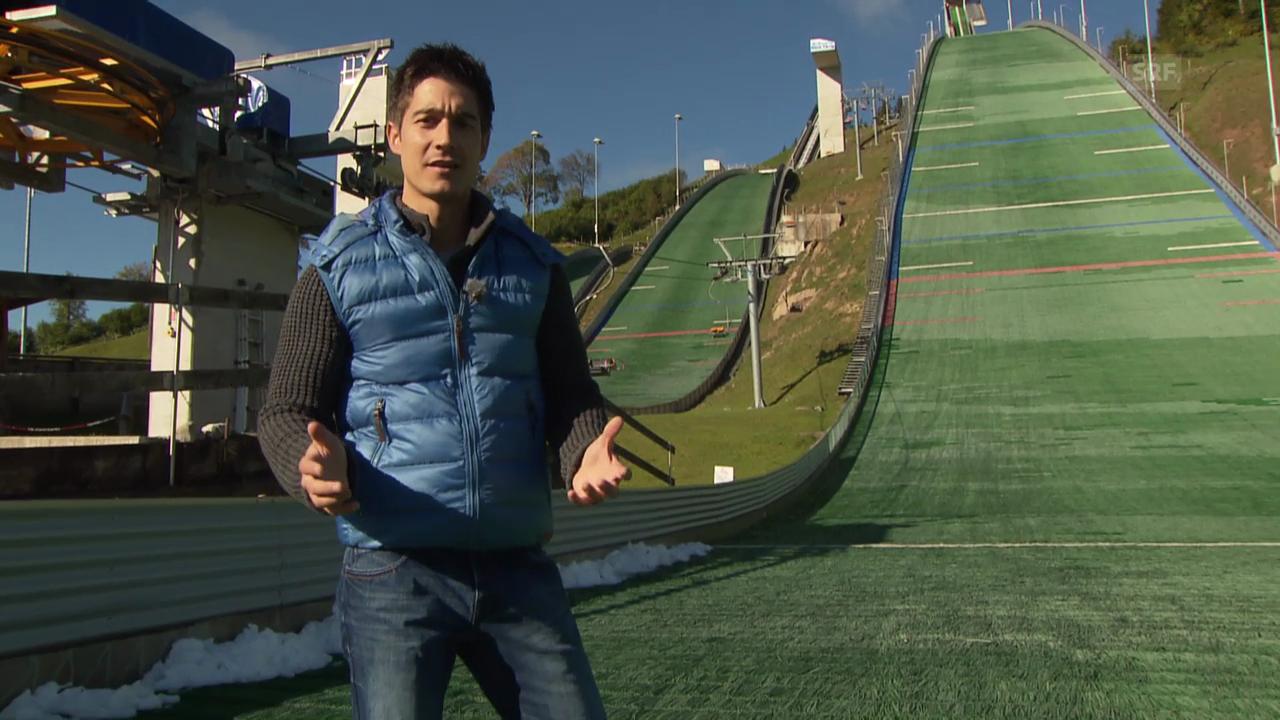 «Einstein» entdeckt: Skispringen