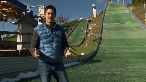 Video ««Einstein» entdeckt: Skispringen» abspielen