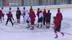 Video «Die Eishockey-Nati vor dem Duell gegen Kanada» abspielen