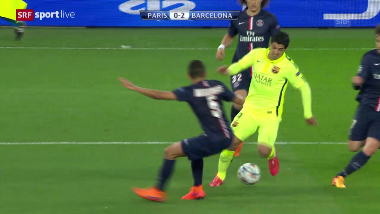 Fussball: CL-Viertelfinal PSG - Barcelona, Spielbericht