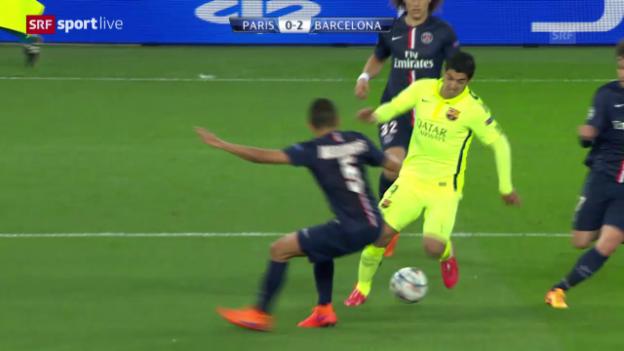 Video «Fussball: CL-Viertelfinal PSG - Barcelona, Spielbericht» abspielen
