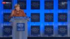 Video «Angela Merkel betont die Wichtigkeit der Wettbewerbsfähigkeit» abspielen
