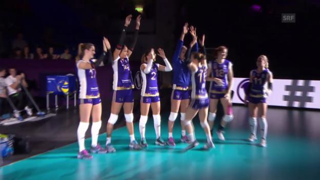 Video «Volleyball: Volero-Wroclaw» abspielen