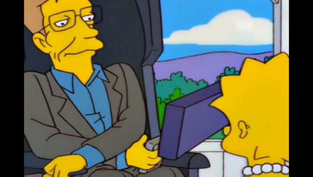 Video «Stephen Hawking (The Simpsons, Fox)» abspielen