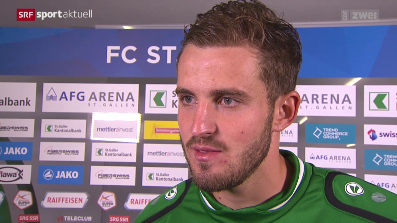 Fussball: Super League, Reaktionen FCSG - Thun