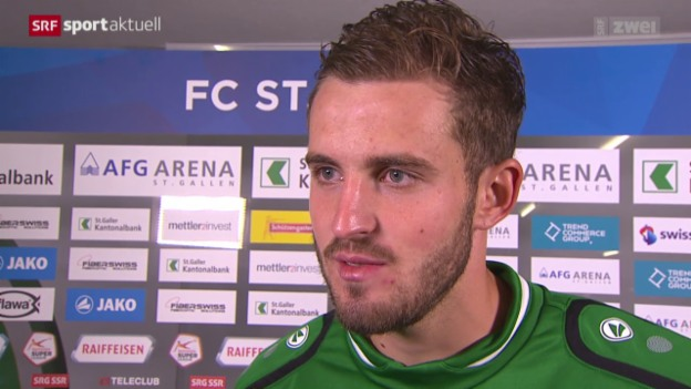 Video «Fussball: Super League, Reaktionen FCSG - Thun» abspielen