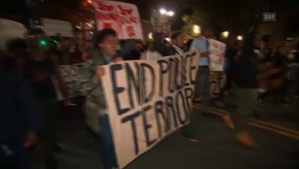 Proteste in Charlotte