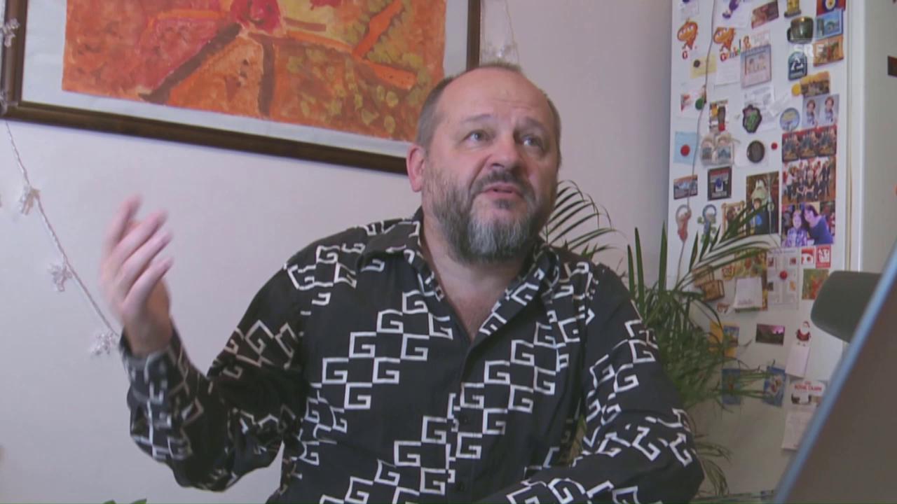 Sergey Elkin über Humor und Putin