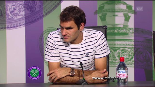 Roger Federer über seine Niederlage gegen Sergej Stachowski