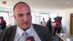 Video «Bericht stützt SVP-Stadtpräsident Legrix in La-Chaux-de-Fonds» abspielen