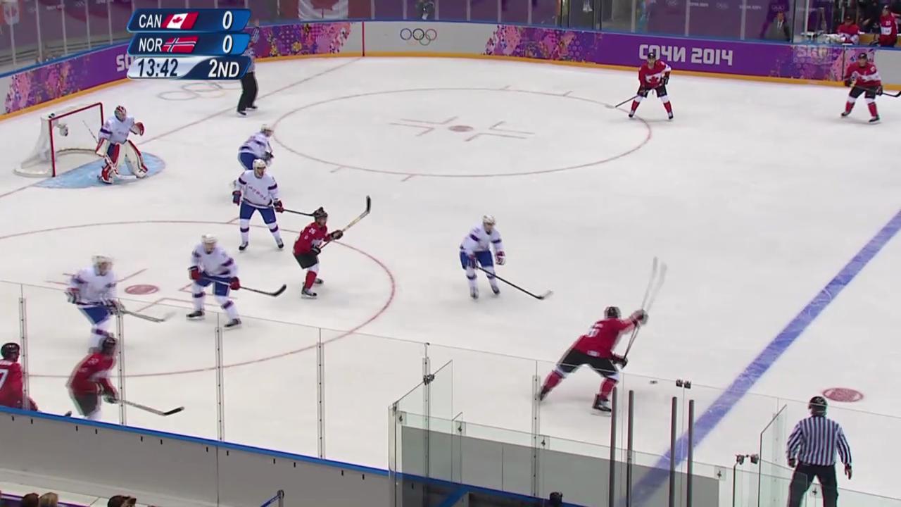 Highlights Kanada - Norwegen (13.02.14)