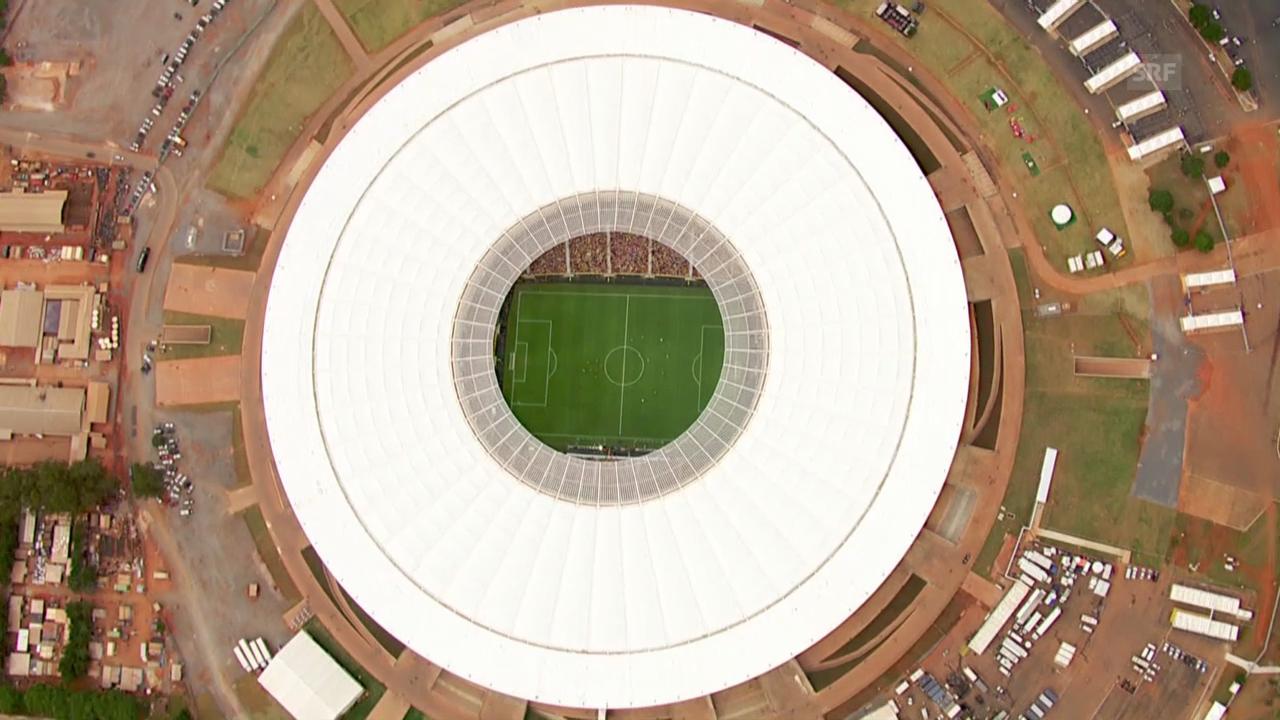 Die WM-Spielorte der Schweizer Nati
