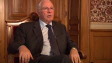 Video «Christoph Blocher spricht über seine Jugend» abspielen
