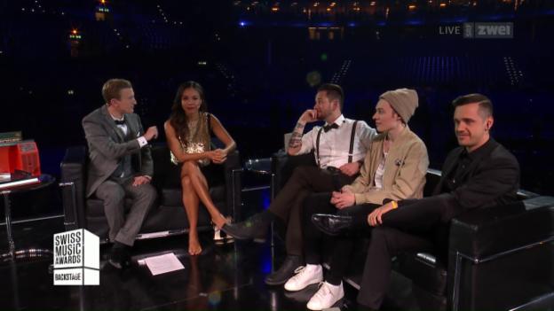 Video «Swiss Music Awards 2017 – Backstage» abspielen