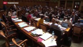 Video «Nationalrat sagt Nein zur Ecopop-Initiative» abspielen