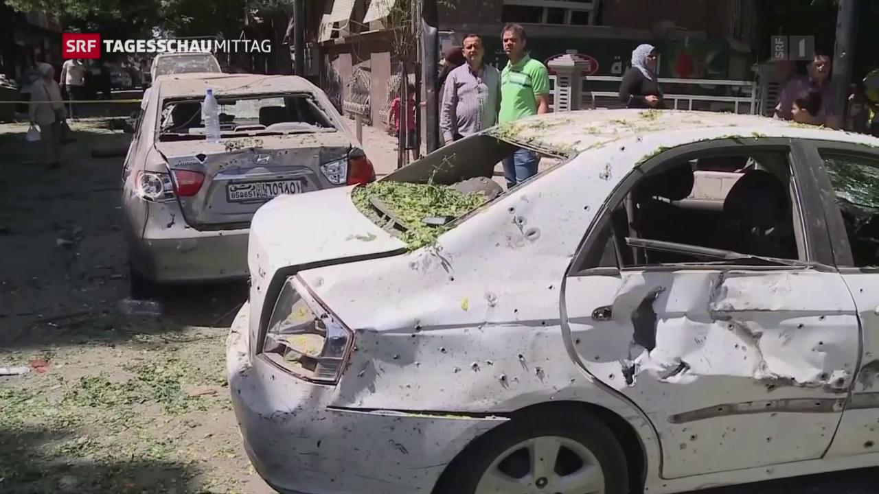 Selbstmordanschlag in Damaskus