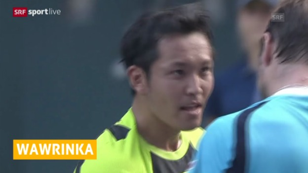 Video «Tennis, ATP in Tokio, Wawrinka - Ito» abspielen