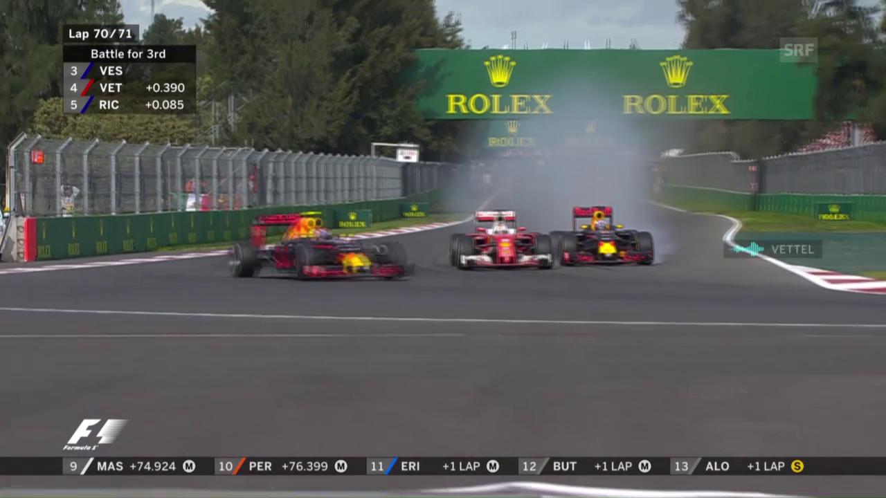 Ricciardo attackiert Vettel